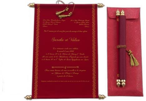 Scroll Invitations Custom Printed Scroll Invitation For Weddings