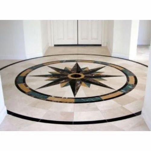Marble Floor Pattern Designing