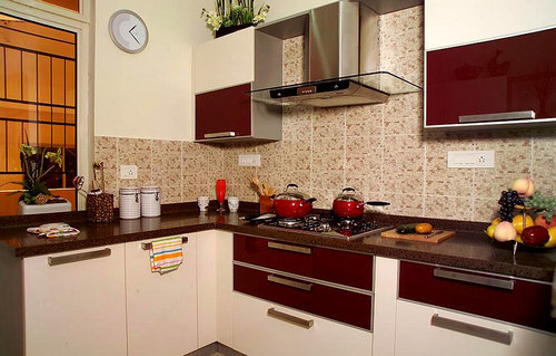 Straight Modular Kitchens