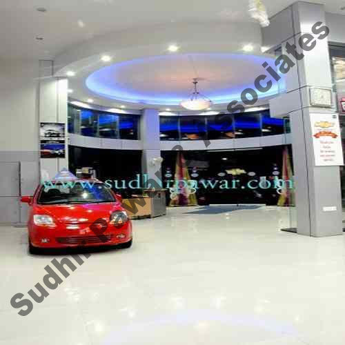 Showroom Interior Designing Car Showroom Design Service Provider