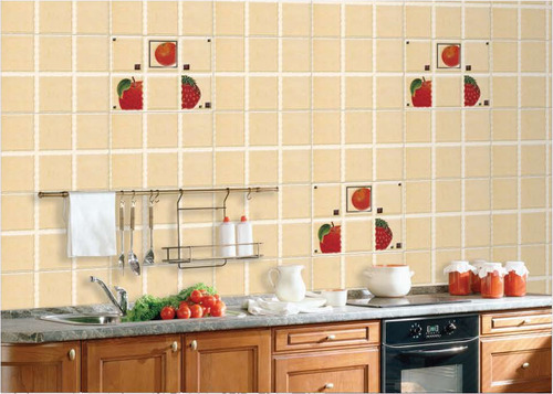 Glass Highlighter Tiles For Kitchen