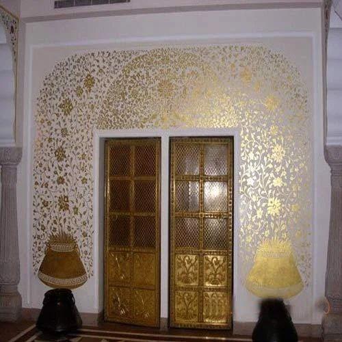Leaf Work Services Gold Leaf Design Work Exporter From